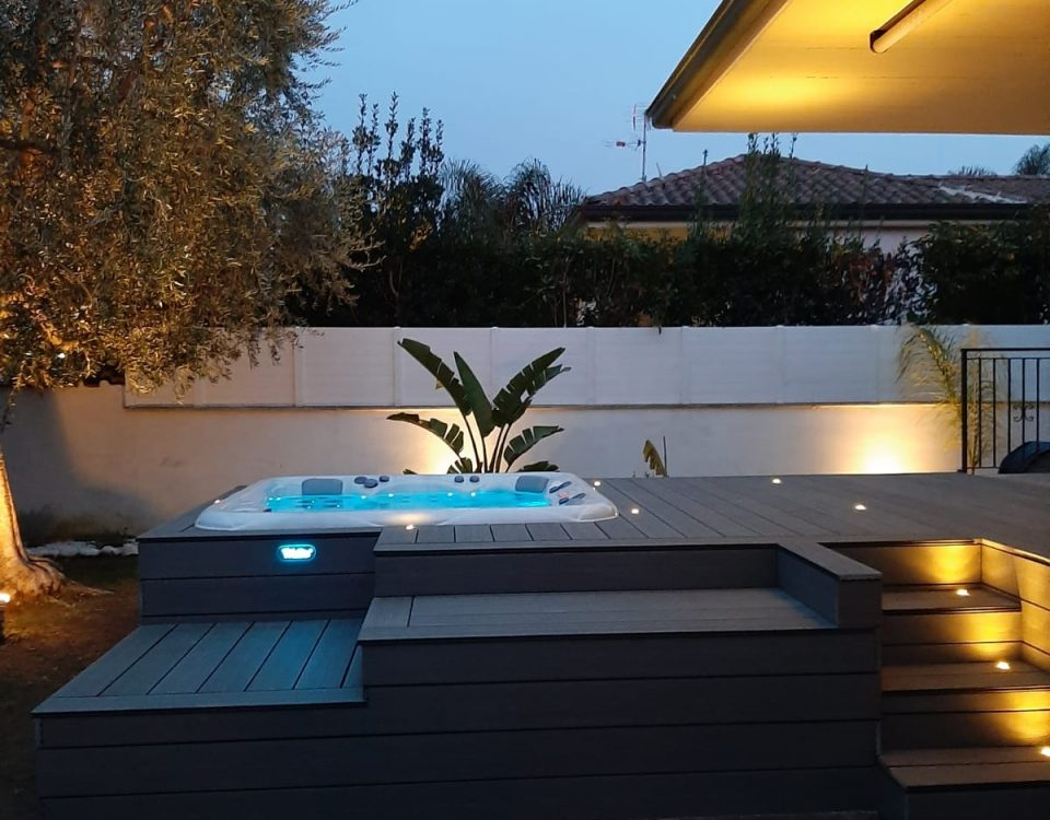 mini piscine idromassaggio